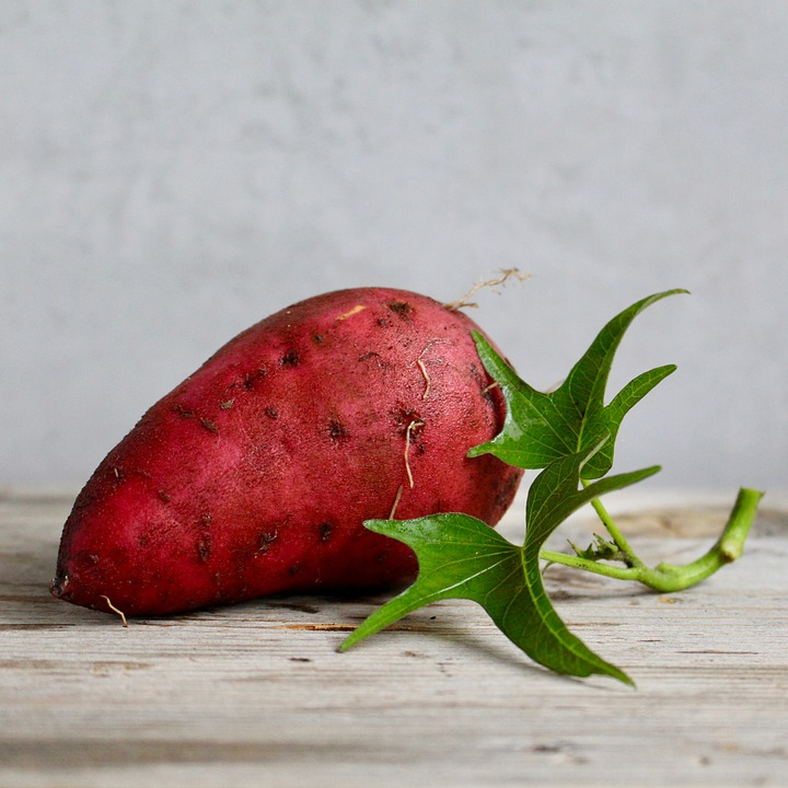 Yam Healthy Sweet Potato Vegetable Food Root